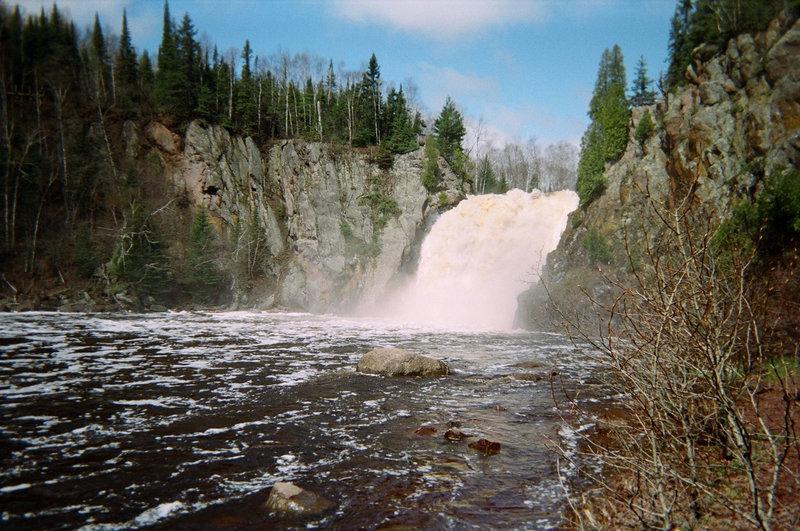 High falls Baptism River