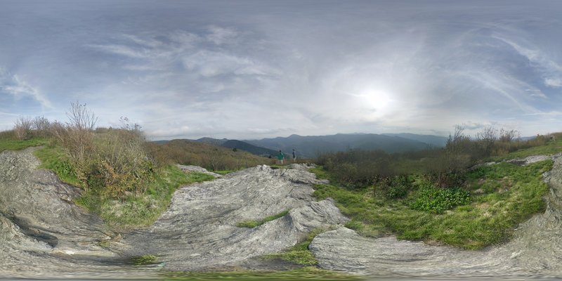 360 Panorama at the top of Sam Knob