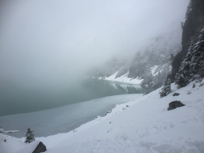 BLANCA LAKE! ... on a cloudy day