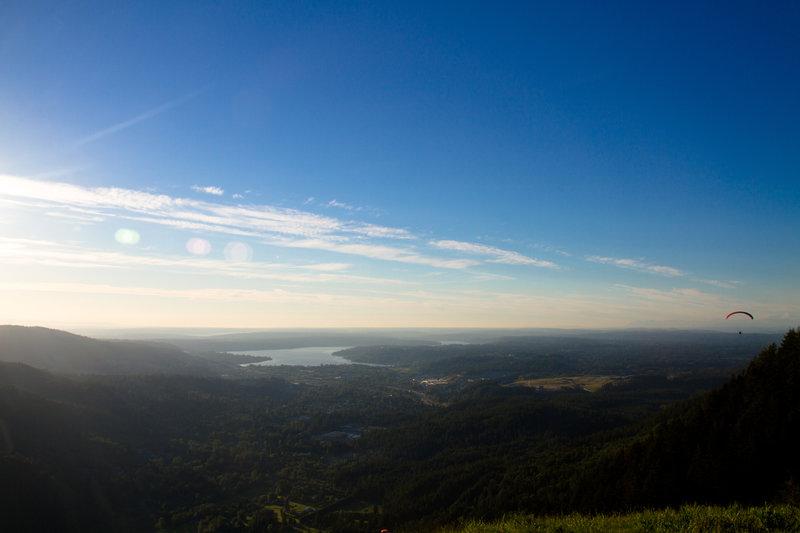 Lake Sammamish seen from Tiger Mountain