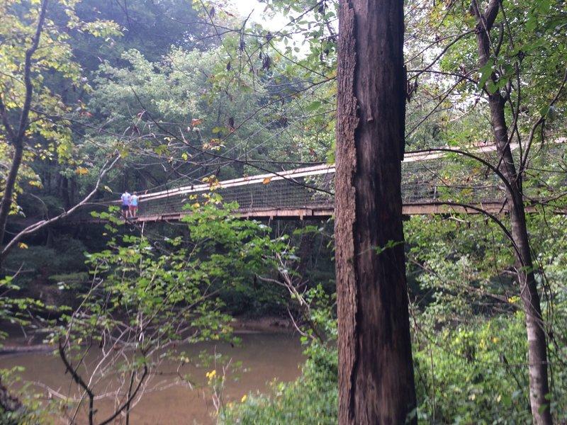 Bridge over the Red River