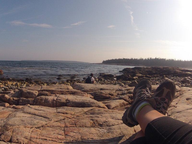 The ocean view!