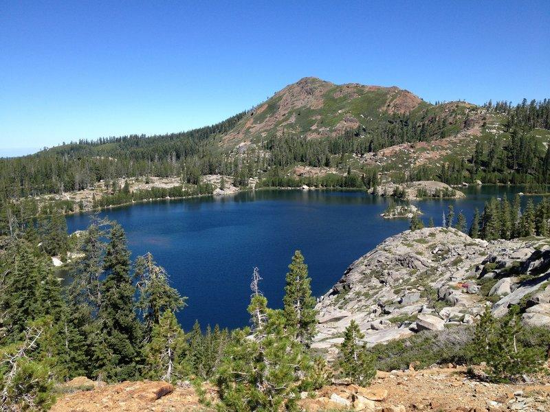 Views over Island Lake.