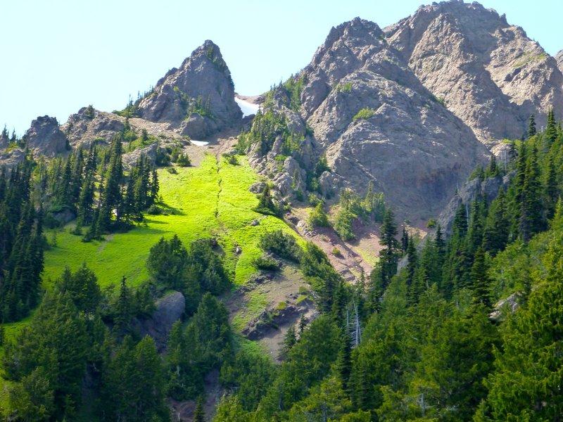 Amazing sights along the Klahhane Ridge - by Rick McCharles