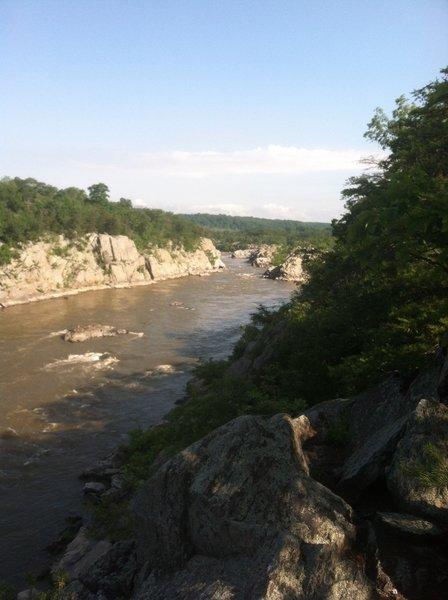 Potomac River MD side.