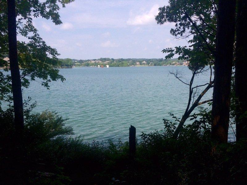 Silos on Tellico Lake