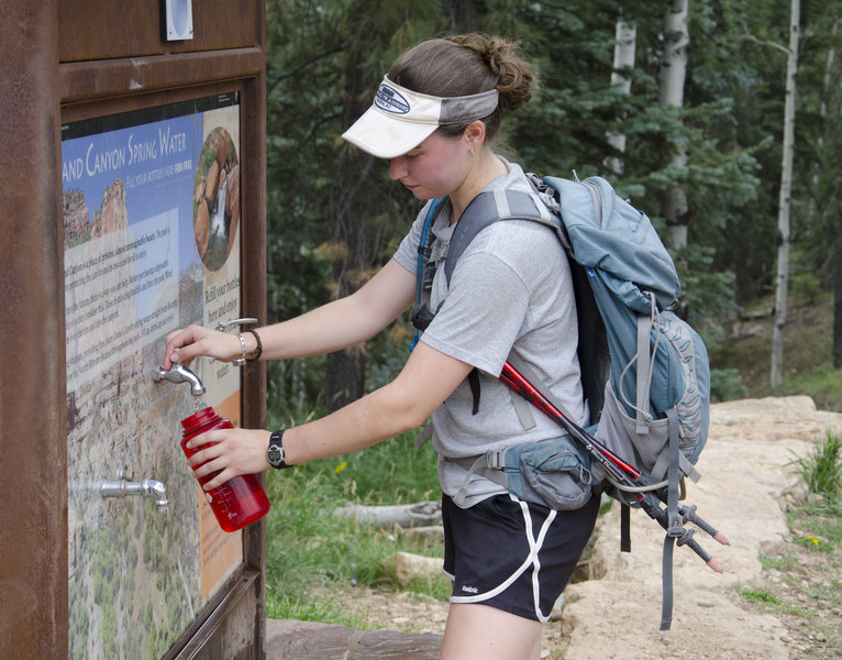 North Kaibab Trailhead - Water Bottle Filling Station