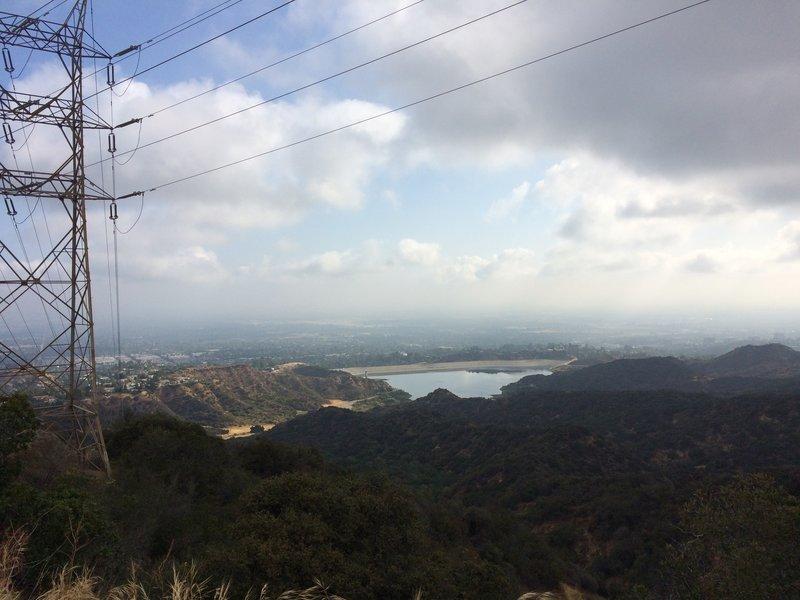 On Muholland overlook San Fernado Valley