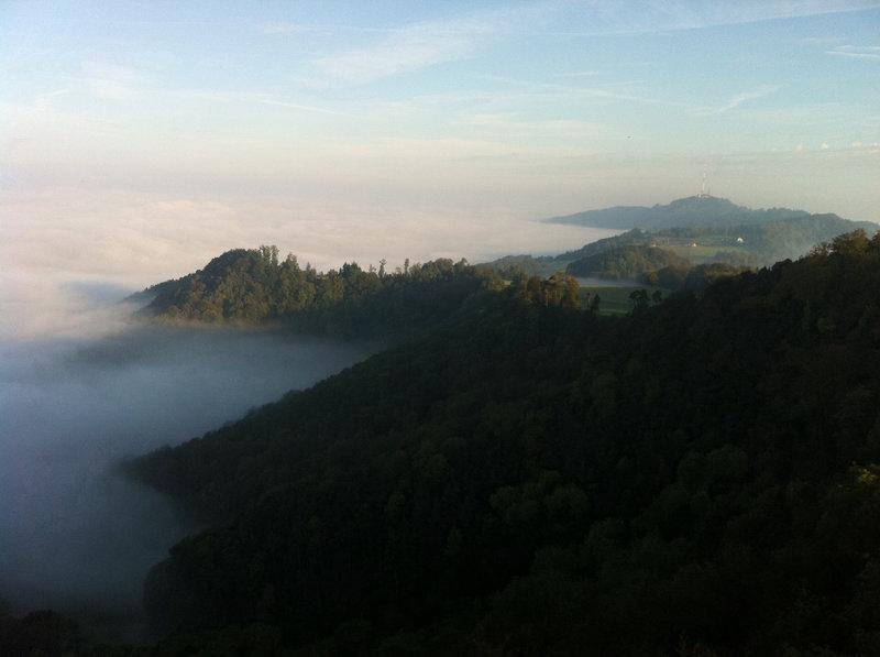 Fog on the Albis