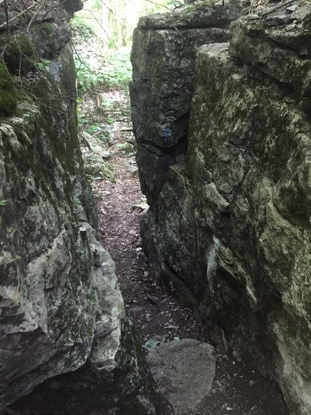 Stone cut on Panther Knob