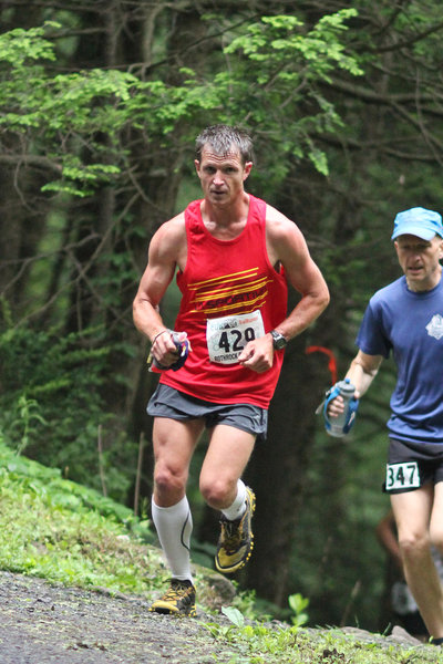 Early in the Rothrock Trail Race
