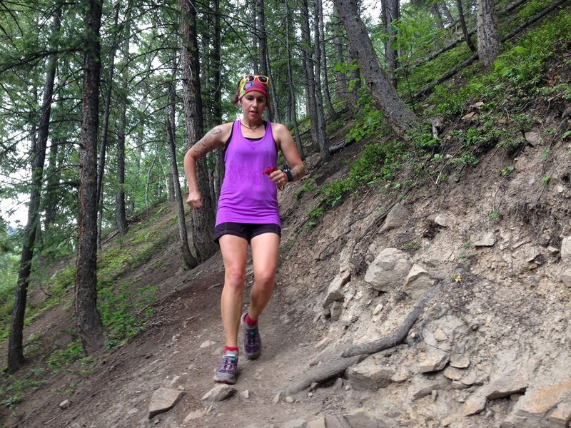 Ute Trail descent