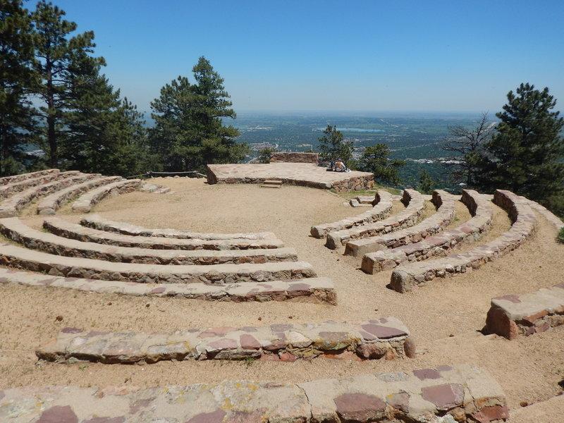 Sunrise Amphitheater near Flagstaff's summit