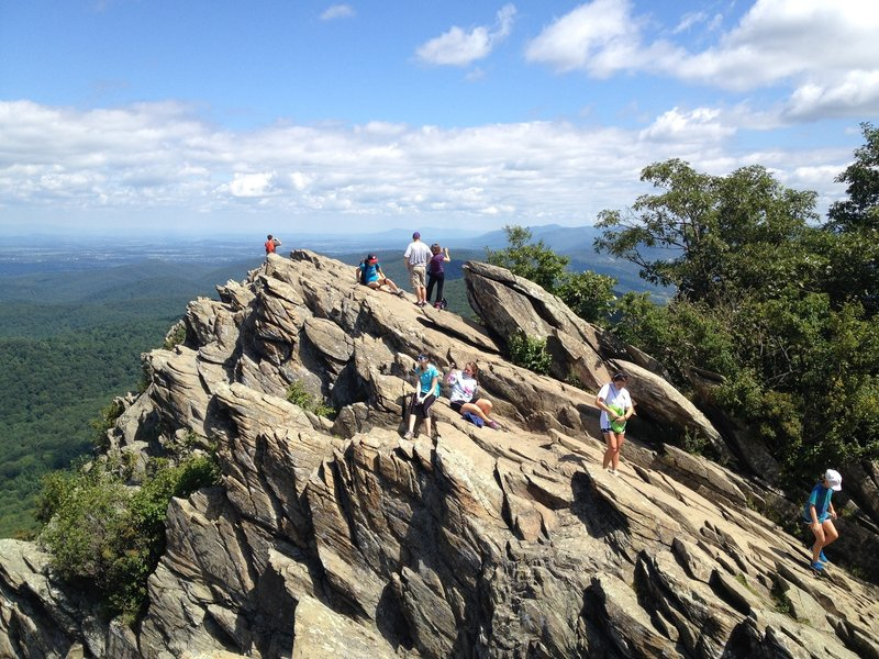 Humpback Rocks hike