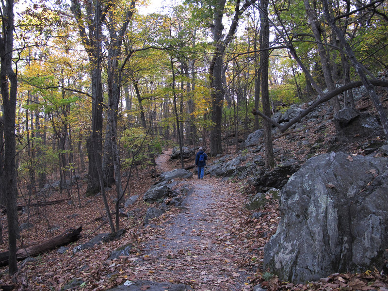 Heading up to Humpback Rocks.