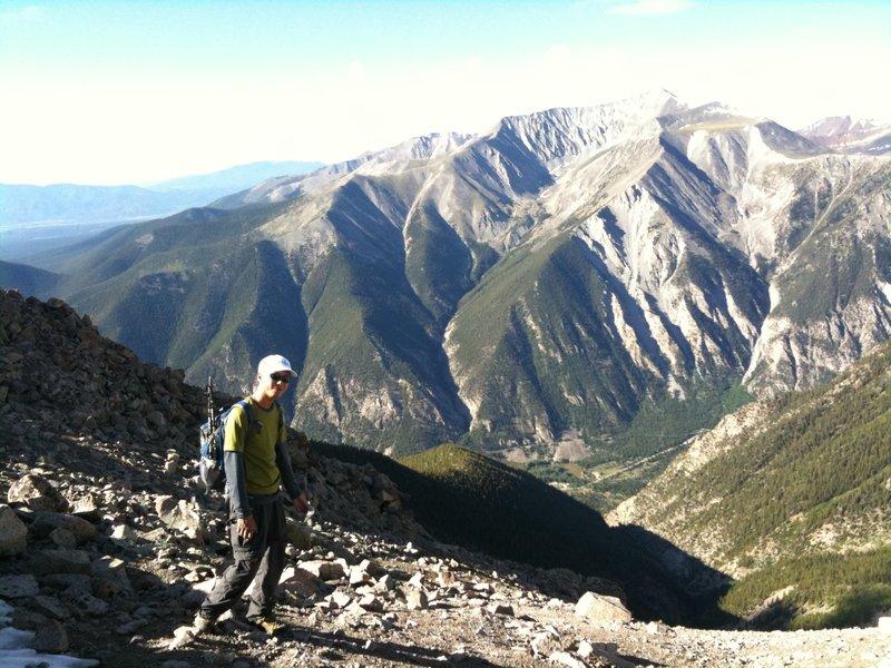 Hiking Mt. Princeton