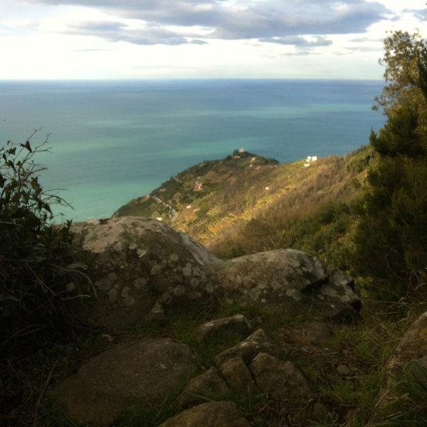 View of the Sanctuary of Montenero