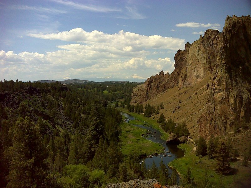 Crooked River Valley and Smith Rock