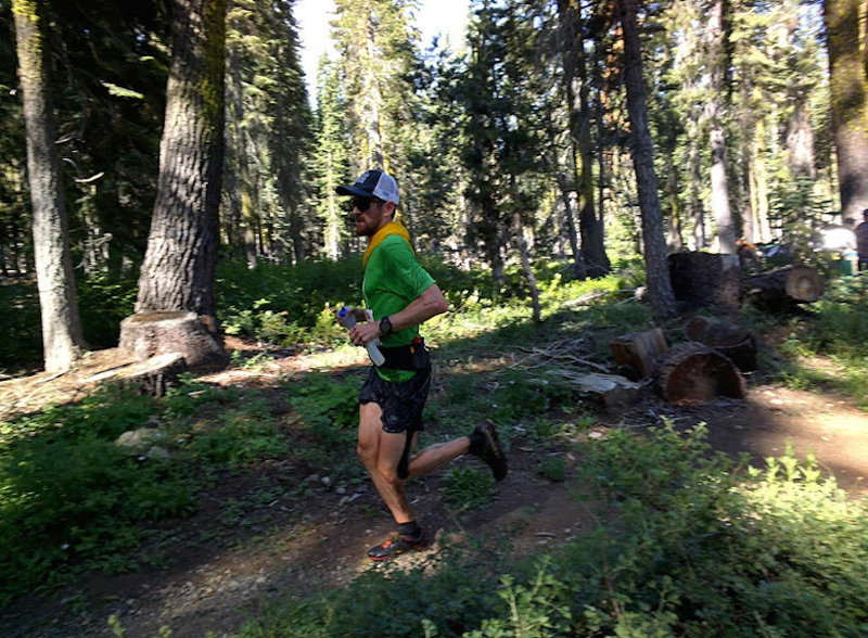 Rolling strong in Western States.