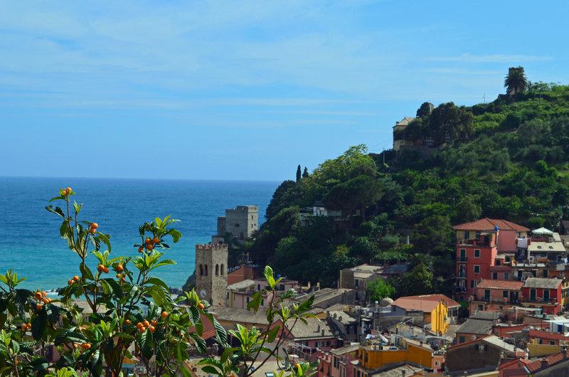 Looking down on Monterosso Al Mare