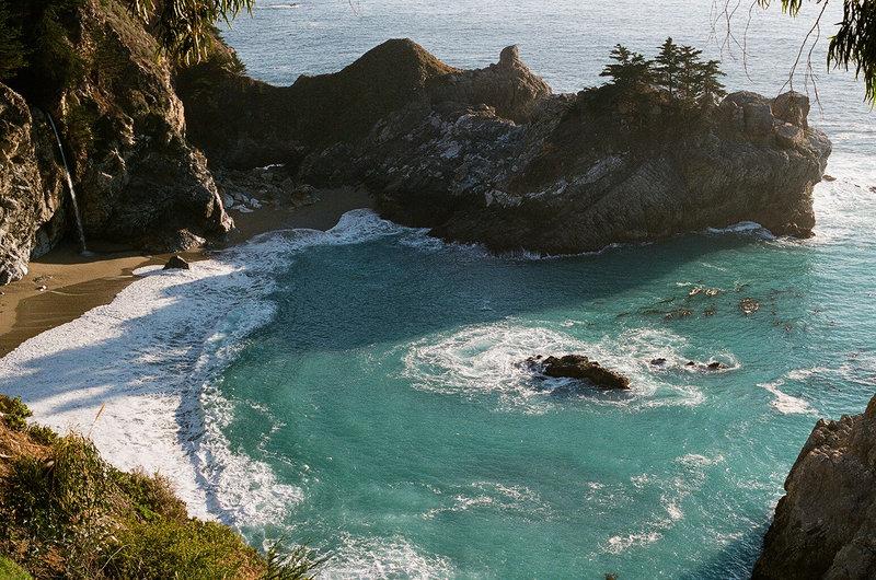 Emerald waters!