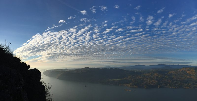Columbia Gorge from Angel's Rest Viewpoint