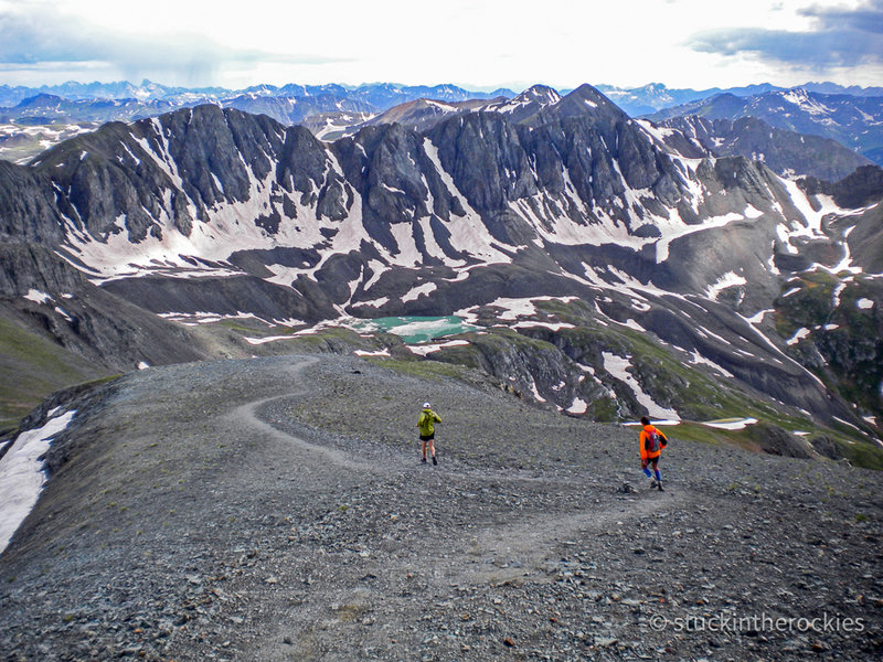 Hardrock 100 Running Trail, Silverton, Colorado