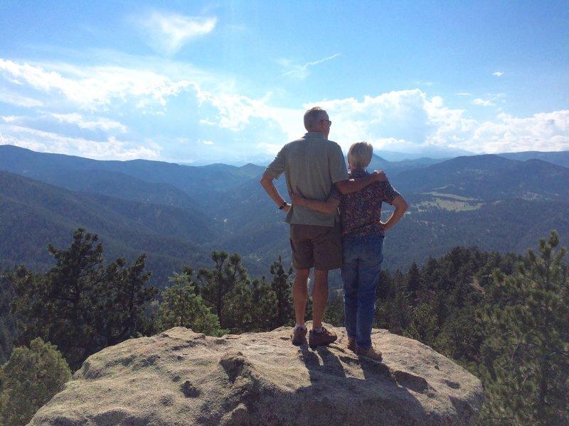 Stellar views of western Boulder County