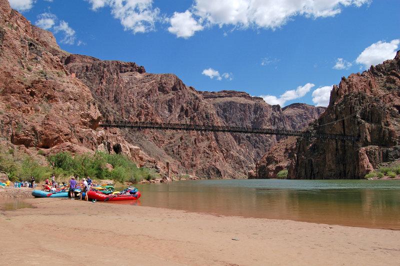 Grand Canyon National Park: Phantom Ranch Boat Beach