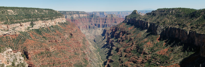 Grand Canyon National Park: The Transept  Gorge