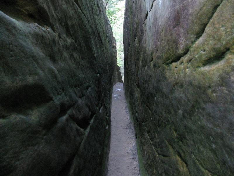 Walkway to Natural Bridge