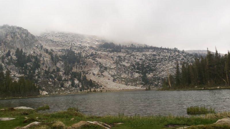Elizabeth Lake in the fog