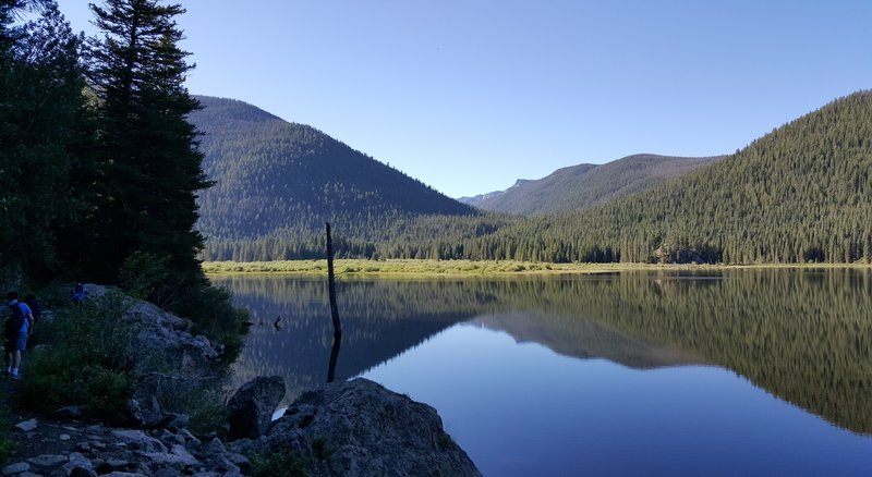 Along Monarch Lake