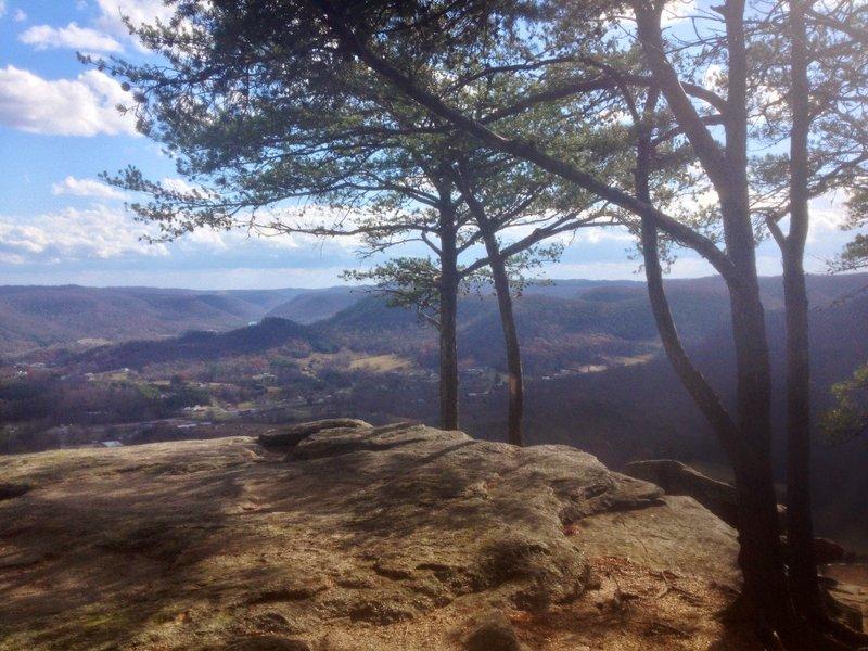 View east from East Pinnacle overlook