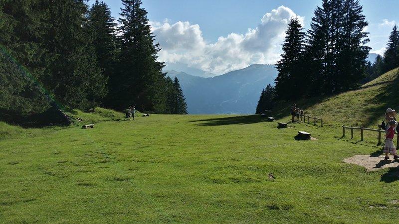 The open meadow of Merlet.
