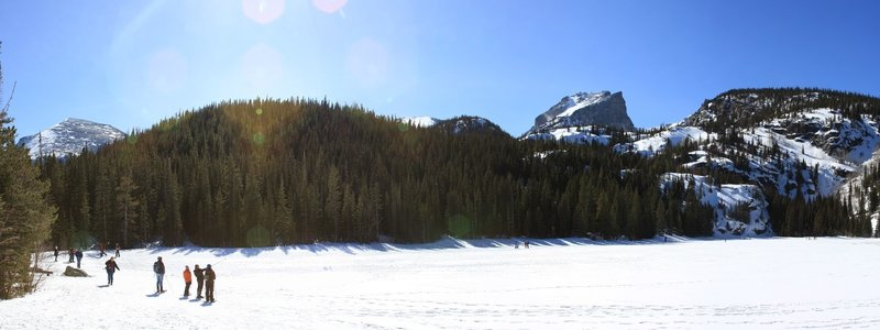 Bear Lake in winter