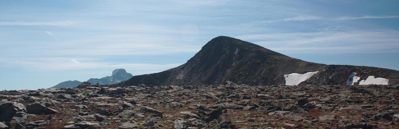 Hallett Peak from Flattop