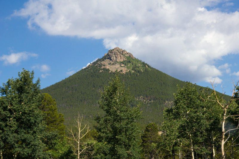 Estes Cone from the Storm Pass Trail (photo by Ben Brockert)