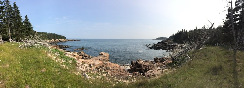 Panorama of Southern Cove in all it's rugged Maine beauty!