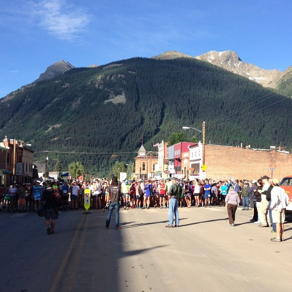 Racers rarin' to go at start of 2015 Kendall Mountain Run