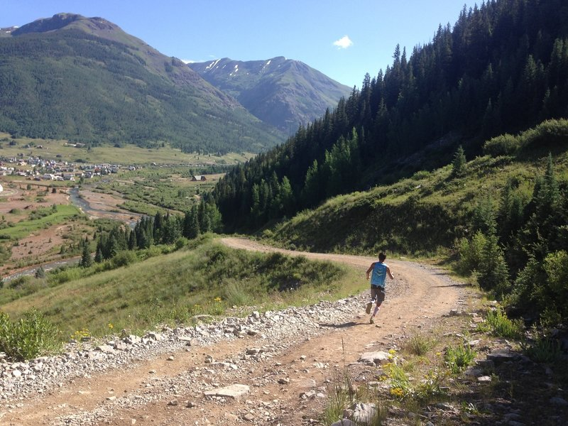 Sage Canaday - Atmospheric re-entry off Kendall Mountain Into Silverton