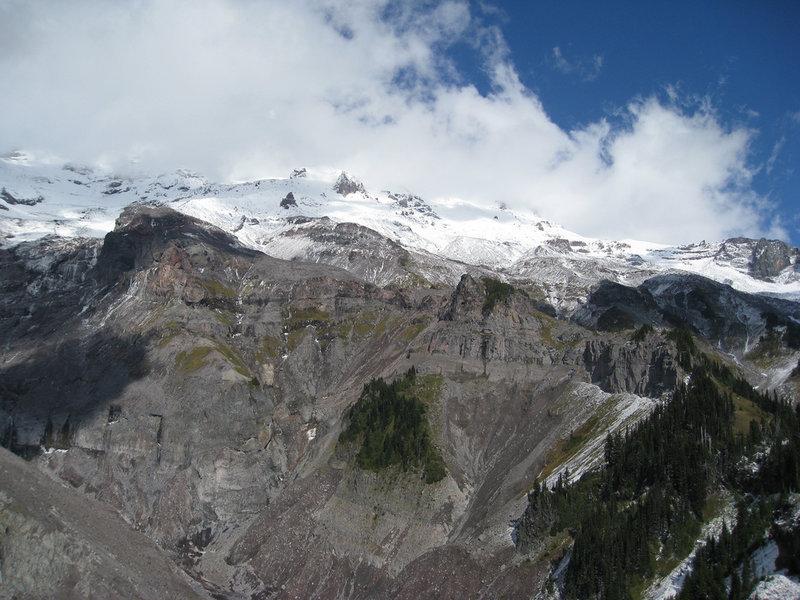 High alpine views from Mildred Point (photo by Brewbooks)