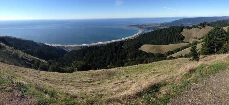 Stunning views from the Coastal Trail.