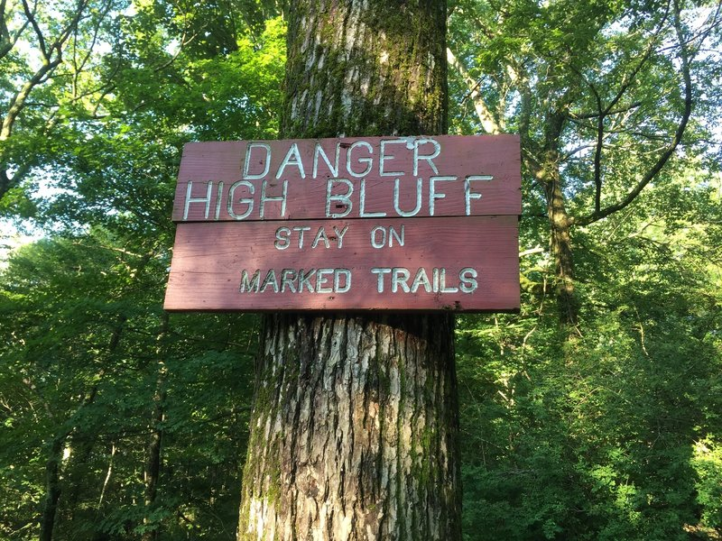 You've been warned.  Extremely difficult trail