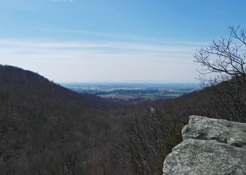 View west from Raven Rock overlook