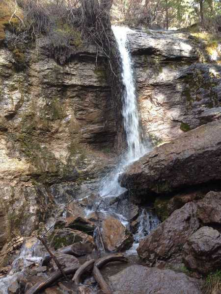 The waterfall in Richard's Hollow