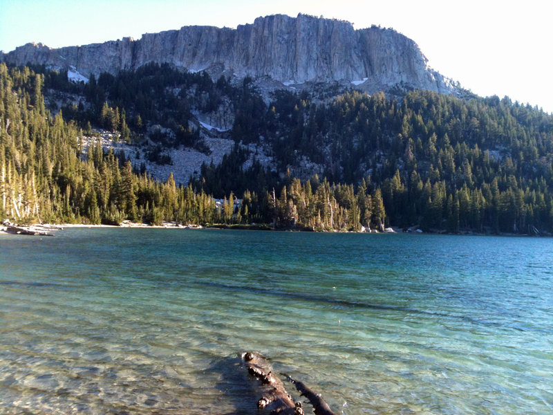 McCloud Lake and Mammoth Crest