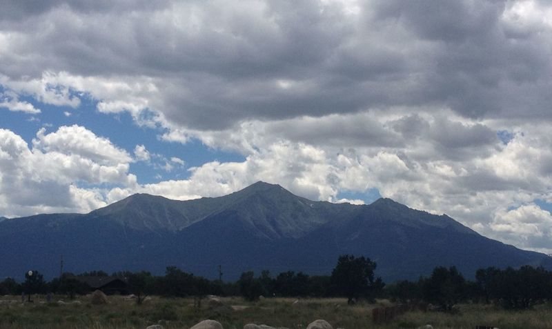 Mt. Princeton looking mighty fine from here.