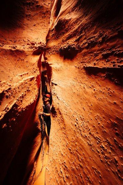 Spooky Gulch slot canyon.