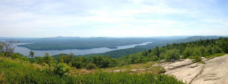 Panorama of Alton Bay, NH